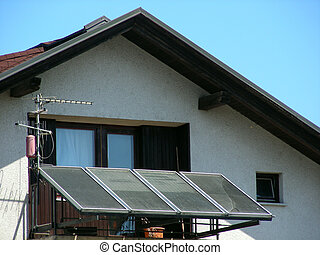Solar home panel