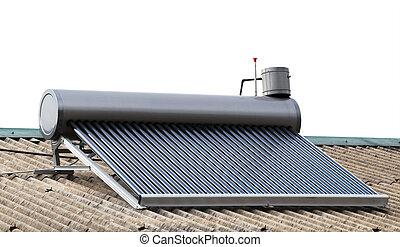 Solar hot water panels