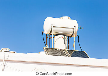Solar Hot Water System.