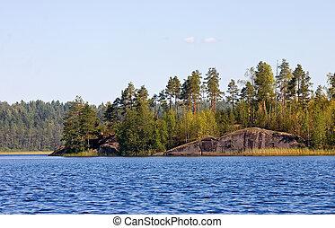 Solar island