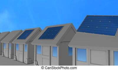 """solar, maison, consumer."", panneau, installed, redential"