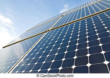 solar, painéis