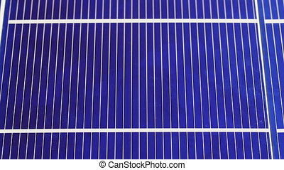 Solar panel cell elements components, detail view background...