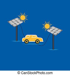solar panel connecting