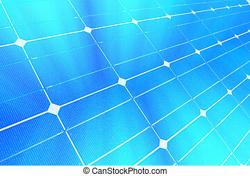 Solar panel - Background. Solar panel. Digital illustration