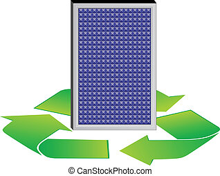 solar panel eco conception