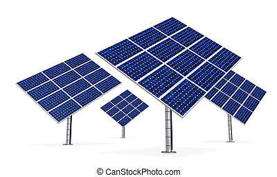 Solar Panel Isolated