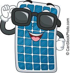 Solar Panel Mascot