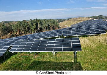 solar panel renewable energy field - solar panel renewable...