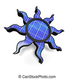 Solar panel - Salor panel illustration