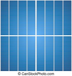 Solar panel seamless vector texture.