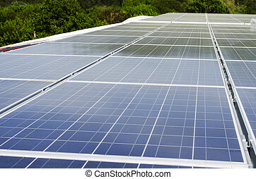 Solar panels and polycrystalline photovoltaic cells