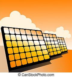 solar panels - Solar panel, alternative energy concept,...