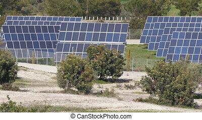 Solar panels. Power engineering concept - Solar panels...