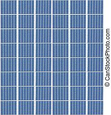 solar panels - A photography of a solar panels texture
