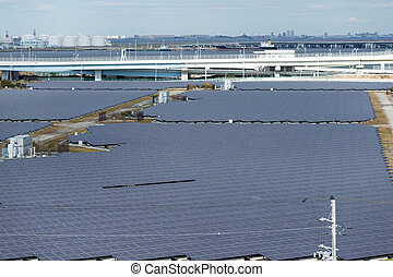 Solar panels system