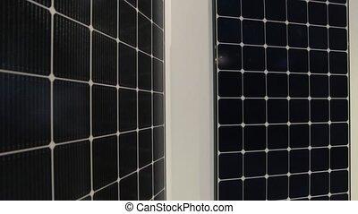 Solar Panels Technology - Modern solar energy panels...