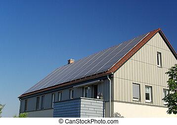 solar, planta