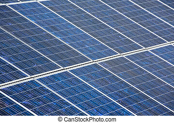 Solar plates for green sun energy