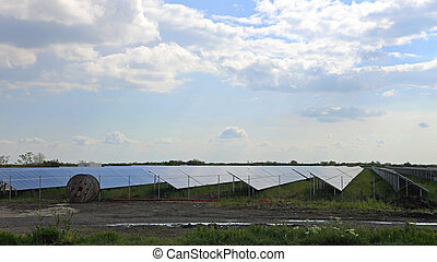 Solar Power Field