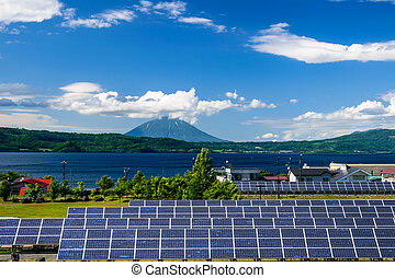 solar power for cocept of sustainable green energy - Solar...