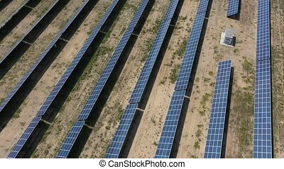 Solar power plant for the production of clean renewable...