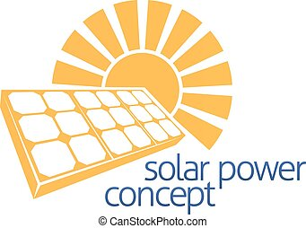 Solar Power Sun Panel Concept