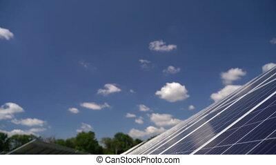Solar Power with Panels - Solar power with panels. ...