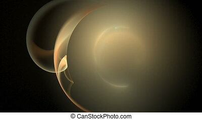 Solar sun corona abstract loop motion background - Solar sun...