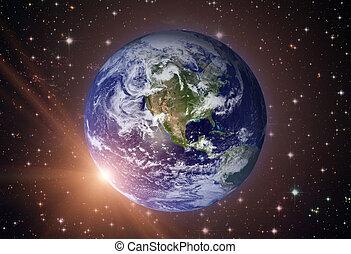 Solar System - Planet Earth.