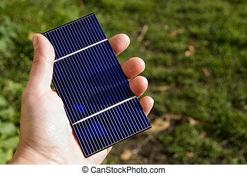 solar, verde