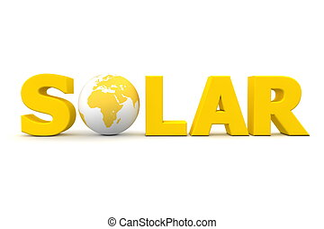 Solar World Yellow