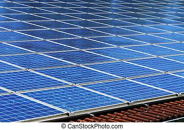 solarcells - Close-up of some big solarcells
