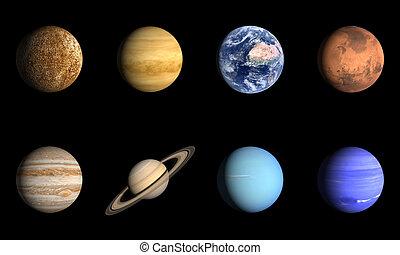 solarsystem, planetas
