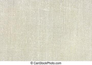 solbränna, säckväv, årgång, struktur, linne, bakgrund, beige, naturlig