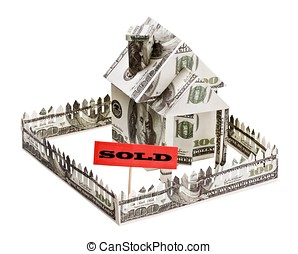 sold a house made of money
