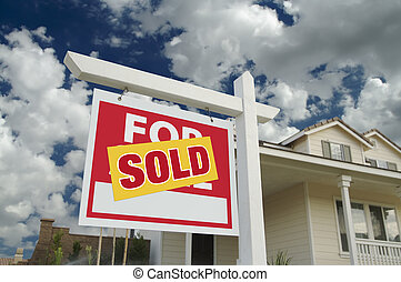 Sold For Sale Sign