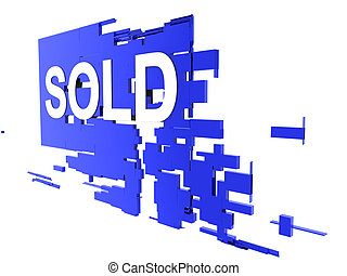 sold on wall