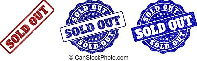 SOLD OUT Scratched Stamp Seals
