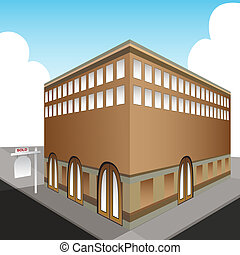 Sold Public Office Building - An image of a sold public...