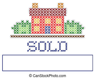 Sold Real Estate Yard Sign