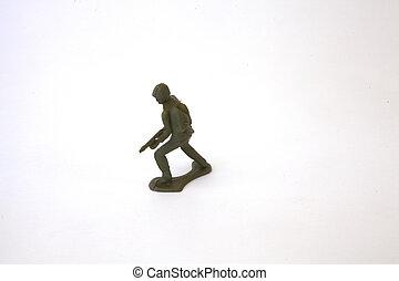 soldaat, speelbal