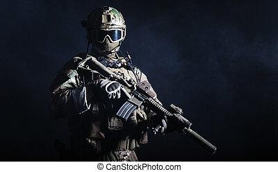 soldado, forças especiais