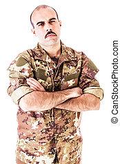 soldado, resistente
