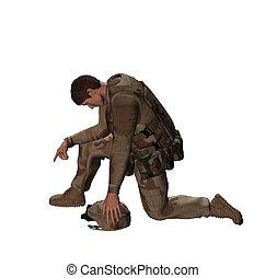 soldado, tributo