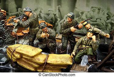 soldados, 2