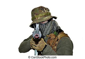 soldat, airsoft, sport, kamouflage