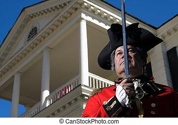 soldat, britannique