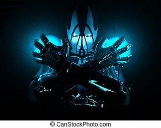 soldat, cyborg