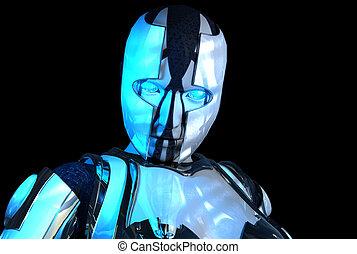 soldat, cyborg, fortgeschritten